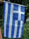 HAND WAVING FLAG - Greece